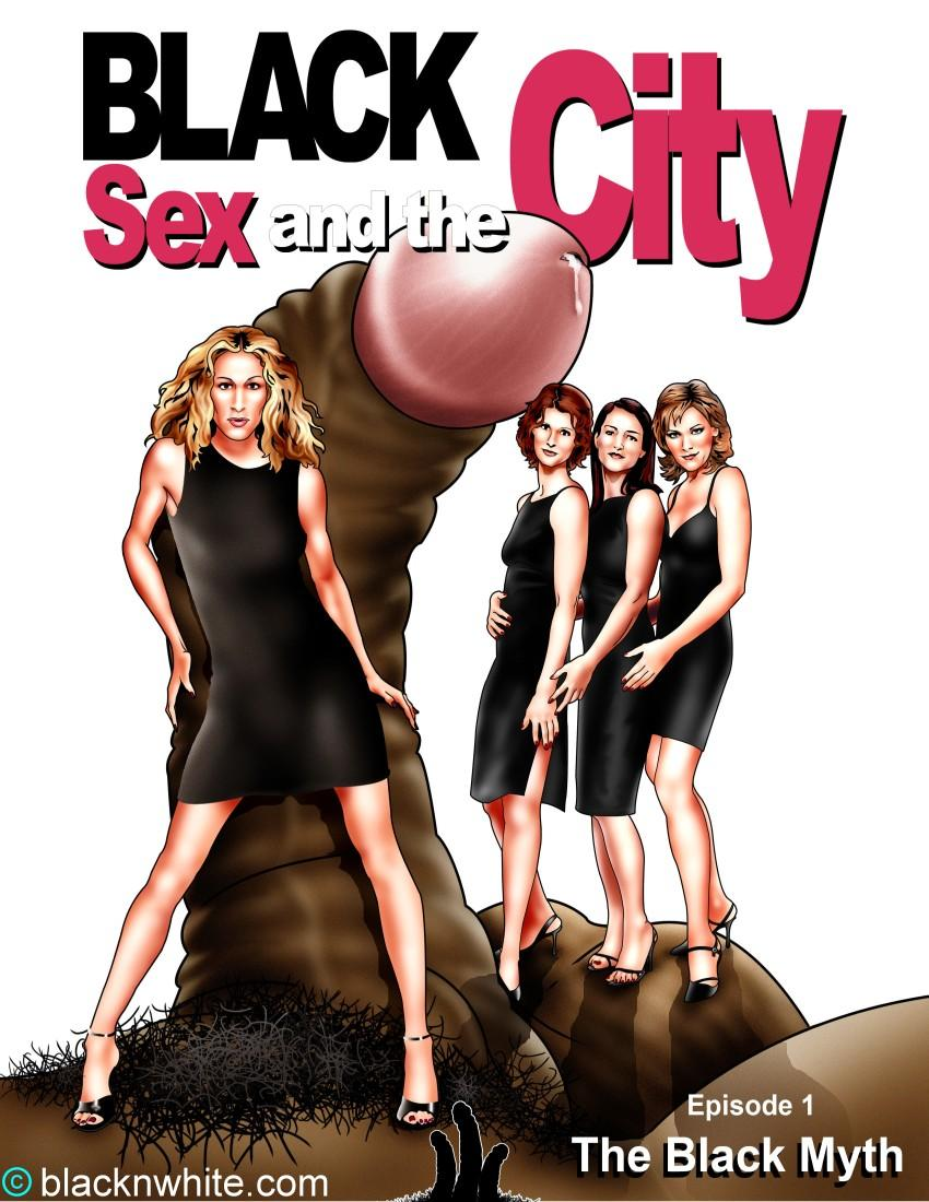 Goodcomix.tk Sex and the City (Movie) - [blacknwhite] - Black Sex and the City - Episode #1 The Black Myth