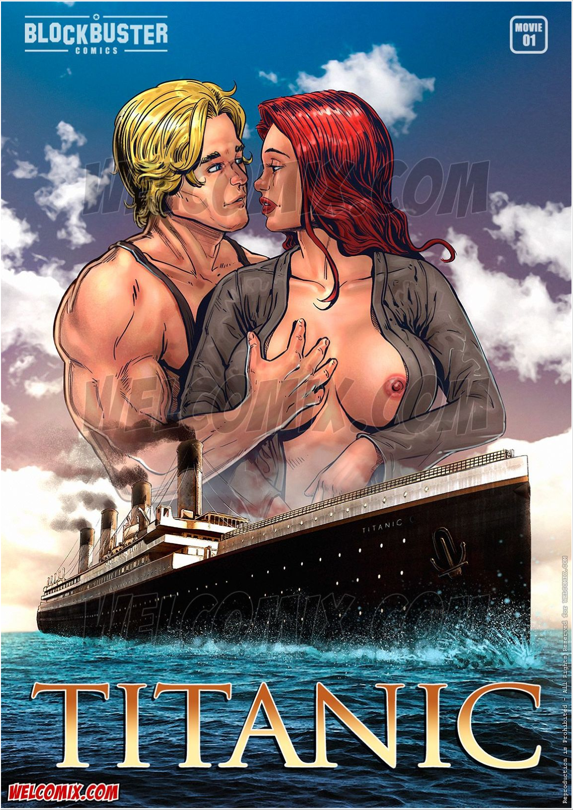 Goodcomix.tk Titanic - [WelComix] - BlockBuster Comics 01 - Titanic