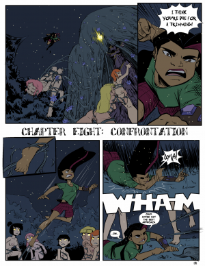 Goodcomix Crossover - [Mr.D][Mister D.] - Camp Sherwood - Ch.8 - Confrontation