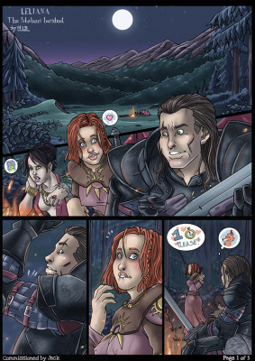 Goodcomix Dragon Age - [Nikraria] - Leliana - The Mabari Incident