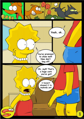 Goodcomix The Simpsons - [Drawn-Sex][Okunev] - Long Day Part.1
