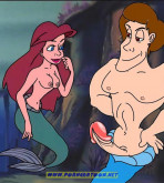 The Little Mermaid — [PornCartoon][Nail] — The Little Mermaid — Ordinary Life Of The Mermaids