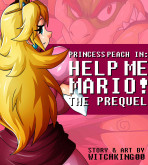 Super Mario Bros - [Witchking00] - Princess Peach in Help Me Mario!