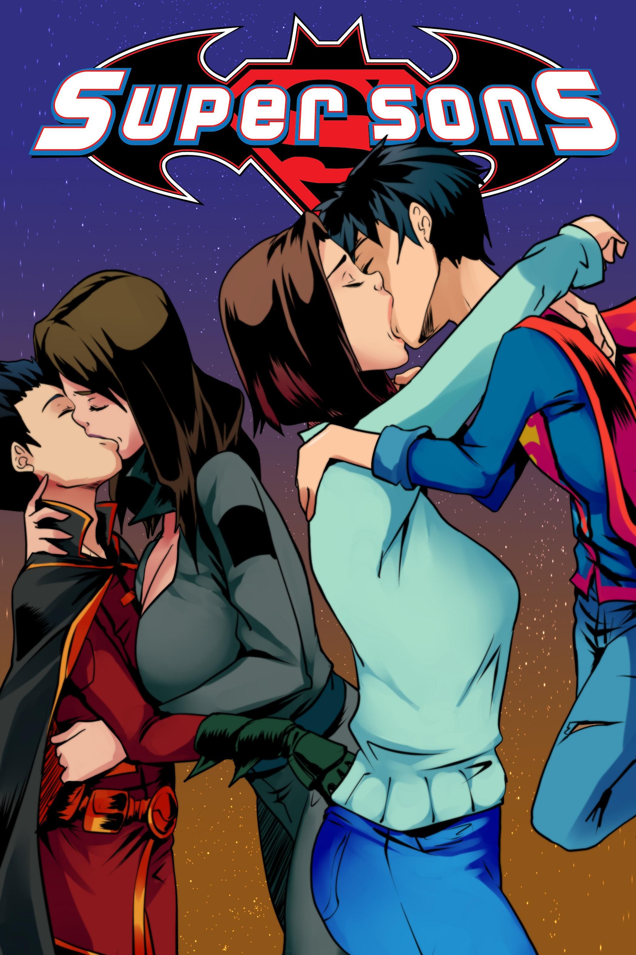 Goodcomix.tk Justice League - [Aya Yanagisawa] - Super Sons ch. 1