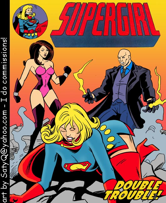 Goodcomix.tk Superman - [Satyq] - Supergirl Sex Slave - Double Trouble