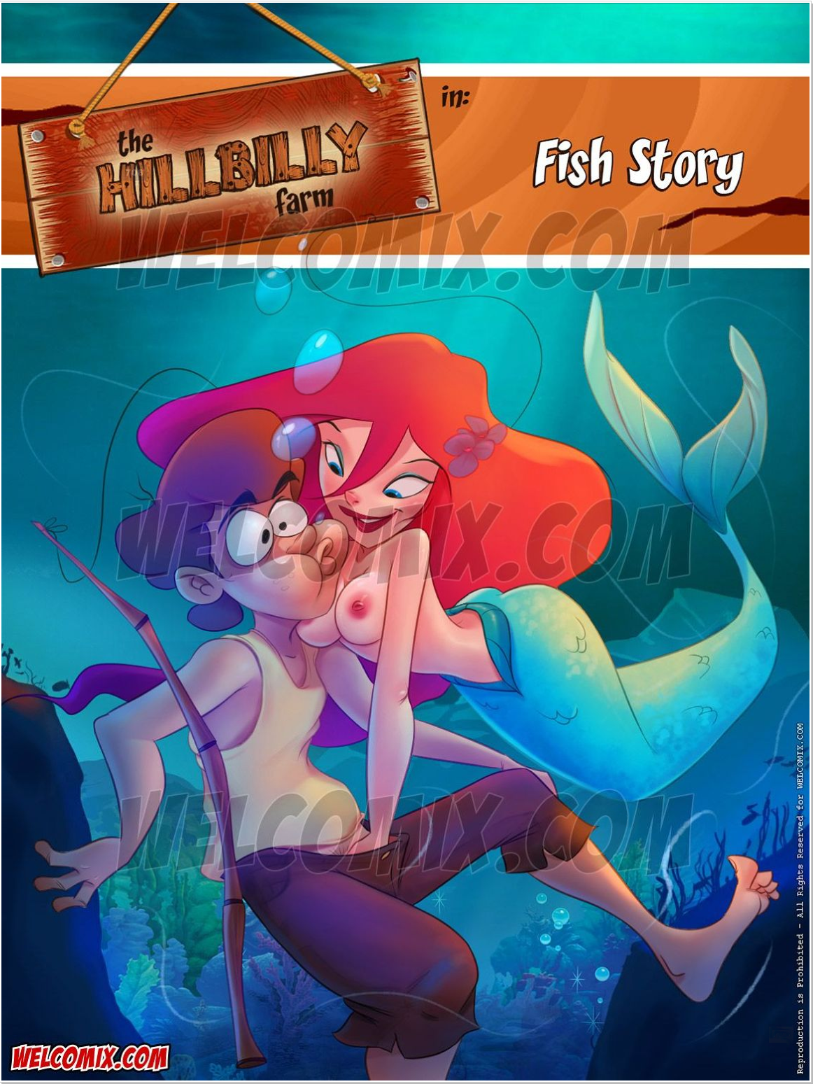 Goodcomix.tk The Little Mermaid - [WelComix] - The Hillbilly Farm #17 Fish Story