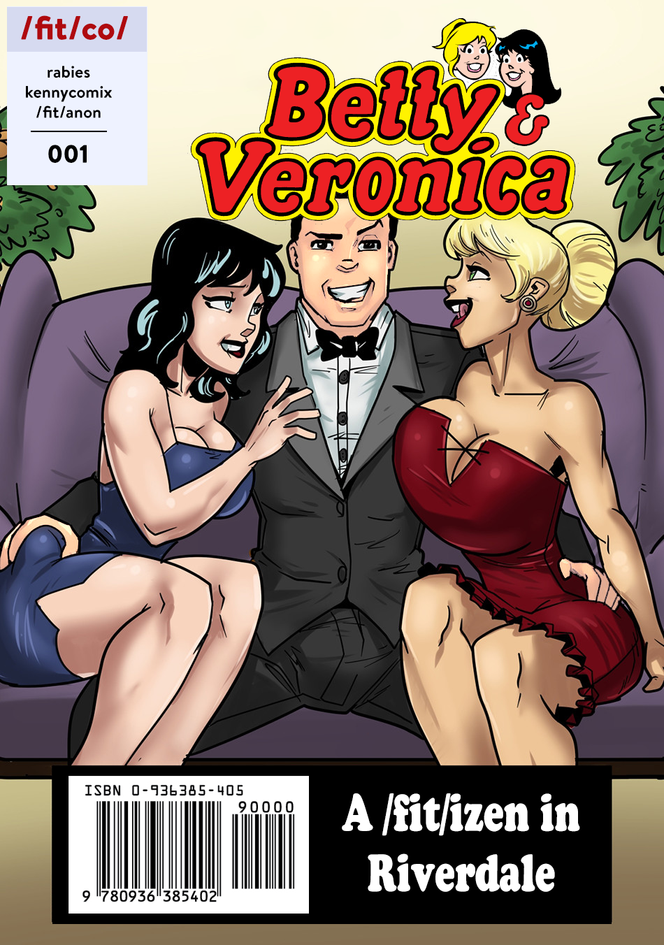Goodcomix.tk The Archie - [Rabies T Lagomorph (Entropy)][Edit] - Betty and Veronica - A Fit Izen in Riverdale #001