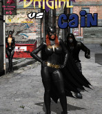 Batman - [MrBunnyArt] - Comics #4 - Batgirl vs Cain
