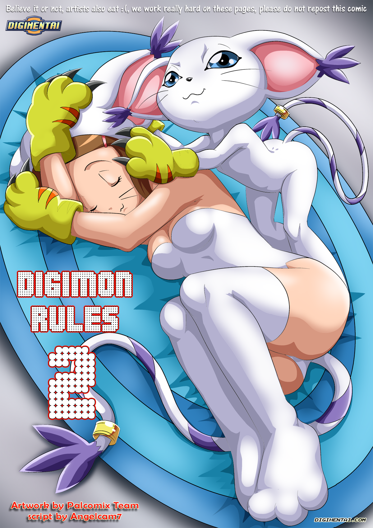Goodcomix.tk Digimon Adventure - [Palcomix][DigiHentai] - Digimon Rules 2
