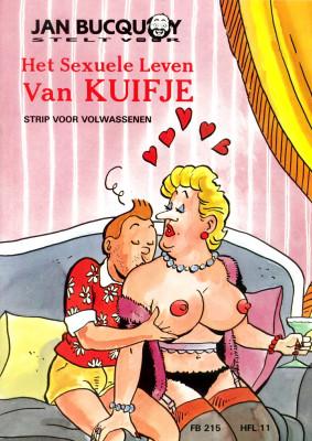 Goodcomix The Adventures of Tintin - [Jan Bucquoy] - La Vie Sexuelle De Tintin - Het Sexuele Leven Van Kuifje (1993) - Deel 1&2 [FULL 64 PAGE]