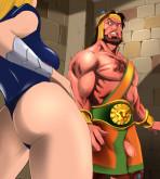 Marvel Universe & Marvel Comics - [Online SuperHeroes] - Namora Receives A Powerful Fuck From Hercules!