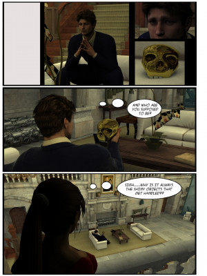 Goodcomix Tomb Raider - [Sasha2000Dog] - Lara Croft 3d Comic - Negotiation