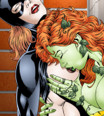 Batman — [Leandro Comics] — Poison Ivy Gives Batgirl Hot Lesbian Sex