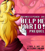 Super Mario Bros - [Witchking00] - Princess Peach in Help Me Mario! The Prequel