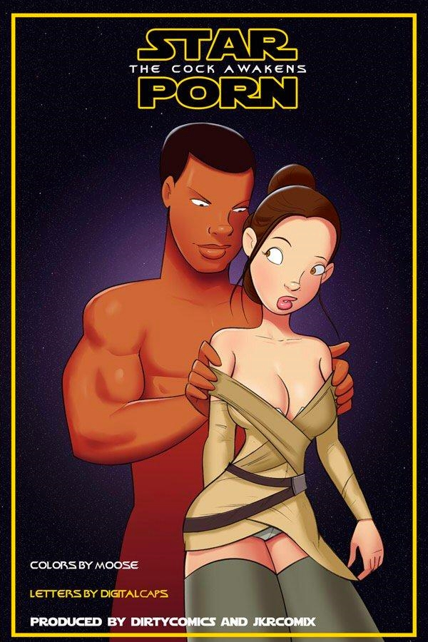 Goodcomix.tk Star Wars - [JKRcomix][DirtyComics] - Star Porn - The Cock Awakens