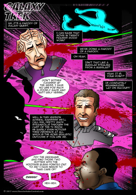 Goodcomix Star Trek - [MonsterBabeCentral] - Galaxy Trek