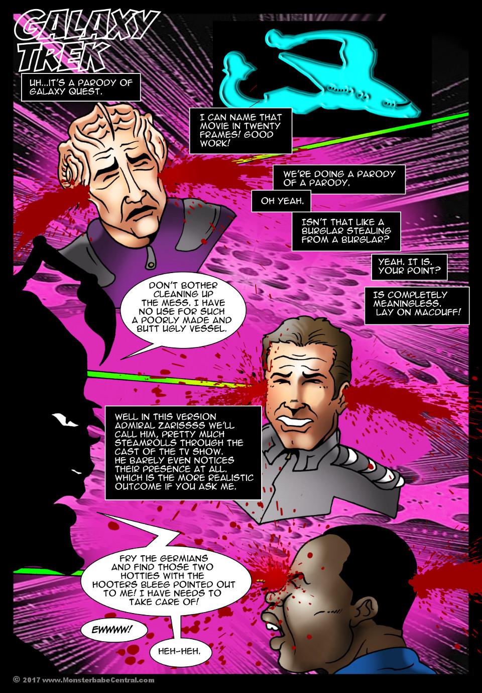 Goodcomix.tk Star Trek - [MonsterBabeCentral] - Galaxy Trek