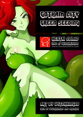 Goodcomix Batman - [Witchking00] - Gotham City - Green Seeding 1