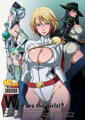 Goodcomix Crossover Heroes - [EROQUIS! (Various)] - Hamecomi!! The Ahengers