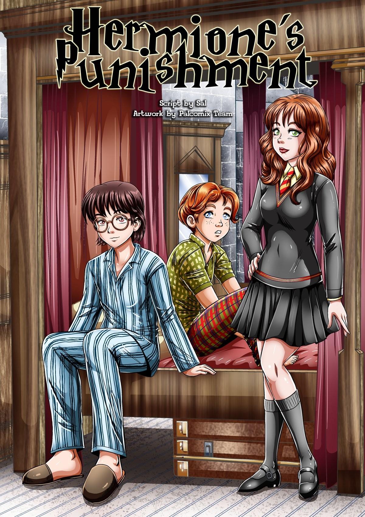 Goodcomix.tk E:Harry Potter - [Palcomix][VIP] - Hermione's Punishment