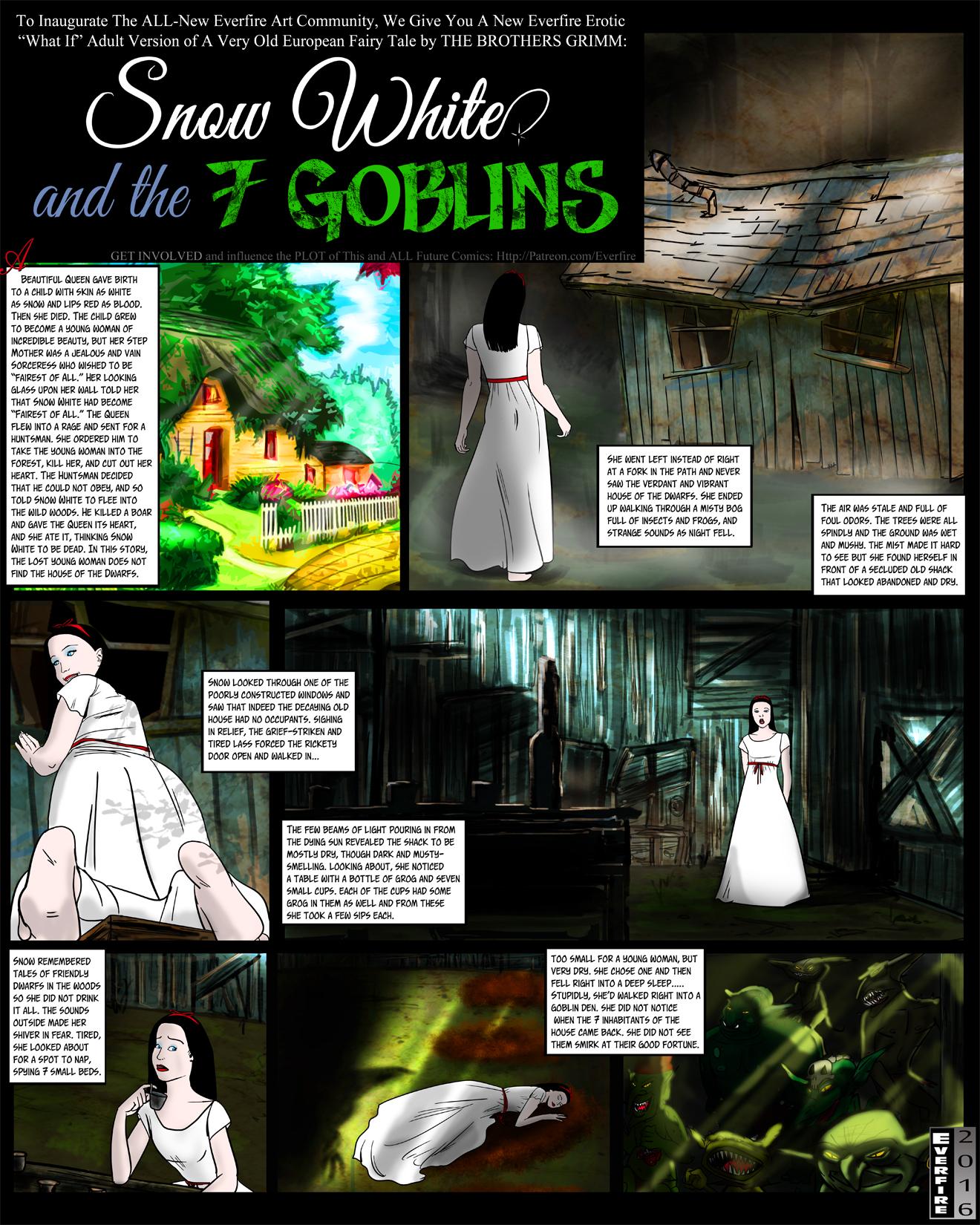 Goodcomix.tk Snow White - [Everfire] - Snow White and the 7 Goblins