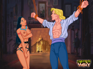 Goodcomix Pocahontas - [CartoonValley][NEW] - Bound Dick