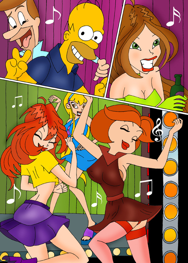 Goodcomix.tk Crossover - [CartoonValley][Comic] - Dirty Party