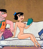The Flintstones - [PornCartoon][Nail] - Good Exchange Of Wives