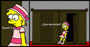 Goodcomix The Simpsons - [Twisted Odin] - Lisa Ayuda a Bart