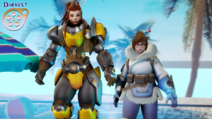 Goodcomix Overwatch - [Darkcet] - Summer Thicc
