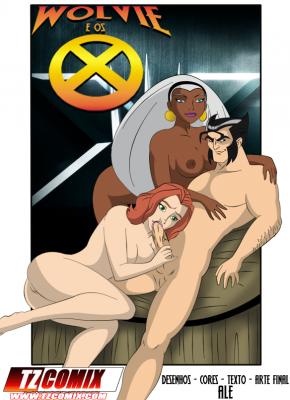 Goodcomix X-Men - [Ale][TZ Comix] - Wolvie e os X