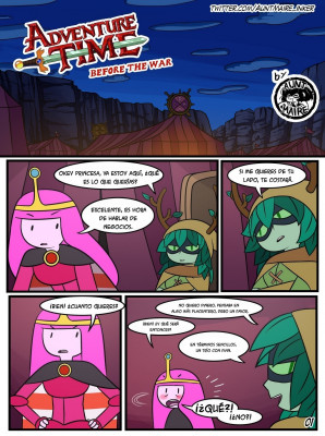 Goodcomix Adventure Time - [Inker Shike] - Before the War