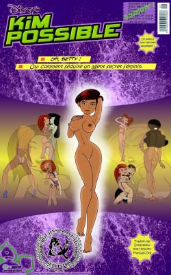 Goodcomix Kim Possible - [Gagala] - Oh, Betty! - Or How to Seduce a Female Secret Agent