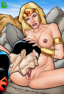 Goodcomix DC Comics - [Leandro Comics](G477) - Wonder Girl and Superboy