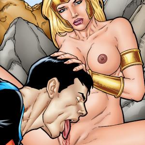 DC Comics - [Leandro Comics](G477) - Wonder Girl and Superboy