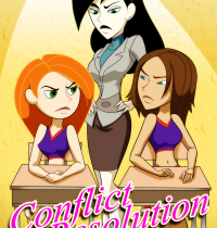Kim Possible — [Palcomix] — Conflict Resolution xxx porno