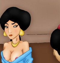 Aladdin — [VIP Famous Toons] — Aladdin and Jasmine Hard SEX (V1 and V2)