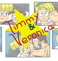 The Fairly OddParents — [Xierra099] — Timmy & Veronica