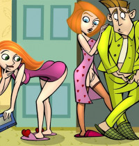 Kim Possible — [Comics-Toons] — My Dother Has а Good Ass xxx porno