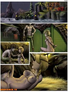 How to Train Your Dragon - My Love Astrid xxx porno