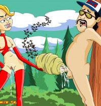 Brickleberry - [ToonBDSM][Dylan] - BDSM From Dolts - #1