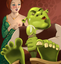 Shrek - [XL-Toons] - Shrek And Fiona