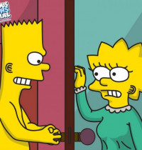 The Simpsons - Bart fucks Lisa in her room xxx porno