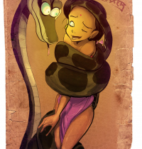 The Jungle Book — [Fixxxer] — Shanti and Kaa