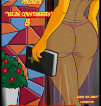 The Simpsons - [VerComicsPorno][Croc] - Los Simpsons Viejas Costumbres.8
