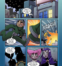 The Teen Titans — [Comics-Toons] — Jinxed and Reven are Lesbians xxx porno