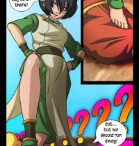 Avatar the Last Airbender - The Foot Fetish - Toph Bei Fong doing Footjob xxx porno