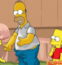 The Simpsons — [Comics-Toons] — Homer Too Wants to Fuck Lisa xxx porno
