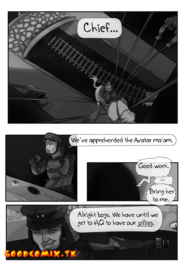 Goodcomix The Legend of Korra - [Polyle] - Apprehended (Monochrome)