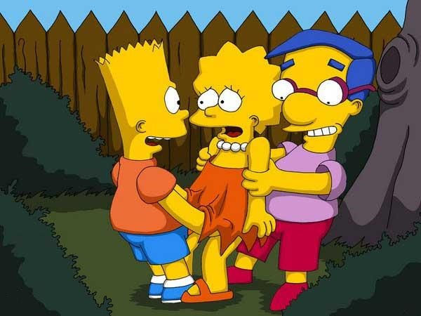 Goodcomix The Simpsons - [Comics-Toons] - Bart & Milhouse Fucks Lisa xxx porno